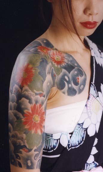 タトゥーメイク 和彫り